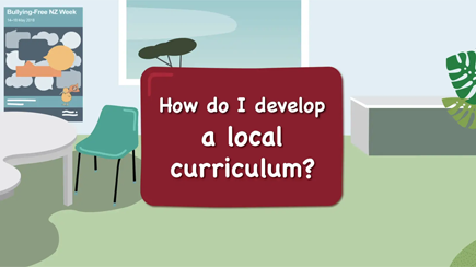 Strengthening local curriculum – How do I develop a local curriculum?