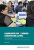Communities of learning in action cover image.