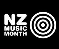 NZ music month logo.