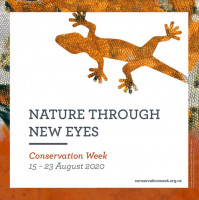 Conservation Week logo.
