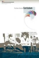 Cover of the New Zealand Curriculum.
