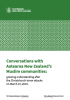 Cover page of Conversations with Aotearoa New Zealand's Muslim Communities