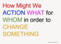 IDEO design thinking question formula.