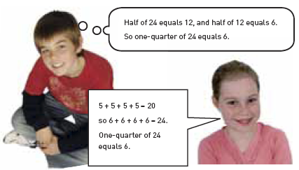 Jodi and friend solve equation.