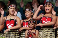 Kapa haka group.
