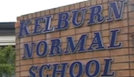 Kelburn normal school entrance.