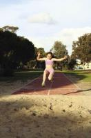 Long jump - athletics.