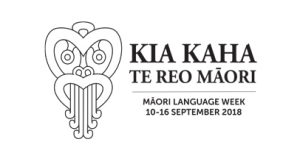 Māori Language Week logo 2018