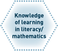 Knowledge of learning in literacy/mathematics