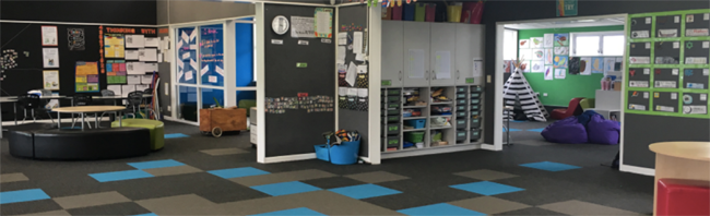 Ngatea Primary - flexible learning spaces.