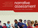 Cover of narrative assessment book.