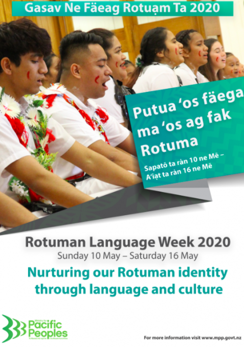 Rotuma Language Week poster.