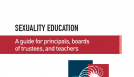 Sexuality Education: A guide for principals, boards of trustees, and teachers