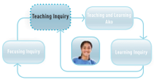 Teaching inquiry icon.