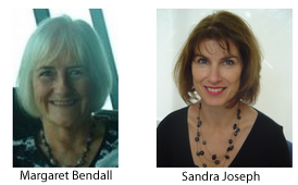 Image of Margaret Bendall and Sandra Joseph.