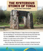 The Mysterious Stones of Tonga.