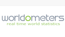 Worldometers logo.
