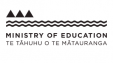 Ministry of Education logo.